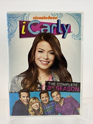 ICarly: The Complete 3rd Season (DVD, 2011, 2-Disc Set) NICKELODEON • 9.39£