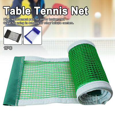 AU12.75 • Buy Table Tennis Net Strong Mesh Portable Foldable School Easy Install Polyester