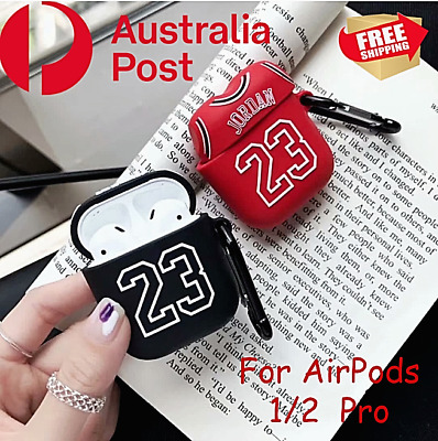 AU9.99 • Buy Shockproof Case Silicone Cover Holder For Apple Airpods 1/2 Pro Basketball