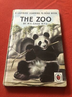 Ladybird Book - The Zoo - Early Learning,Series 563 Free P&P • 3.99£
