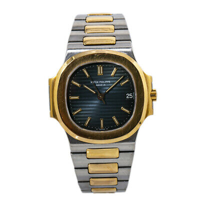 £27617.83 • Buy Patek Philippe Nautilus 3800/1 Blue Dial Mens Watch With Papers 37mm