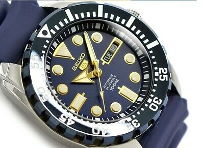 $ CDN109.36 • Buy Vintage Seiko Diver Navy Blue Dial 4R36 Automatic Men's Luxury Watch With Tags