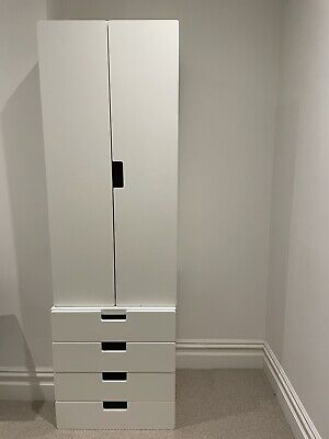 IKEA Stuva White Kids Children Wardrobe And Stuva Drawers • 50£