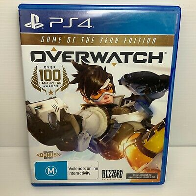 AU23.95 • Buy Overwatch: Game Of The Year - Playstation 4 PS4 - Tested & Working! Free Postage