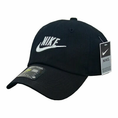 Women Mens Baseball Caps Swoosh Metal Logo Sports Adjustable Hats • 7.98£