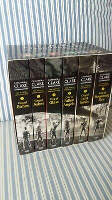 The Mortal Instruments Boxed Set Books 1-6 Excellent Condition • 19.99£