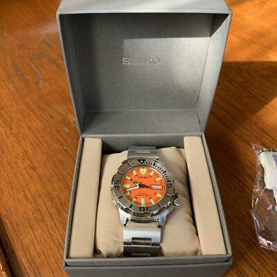 $ CDN869.90 • Buy SEIKO Diver Orange Monster Mens Watch 7S26-0350 43mm SS Pre-owned Working