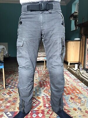BMW Anthracite Summer City Motorcycle Trousers M RRP £205 • 72£