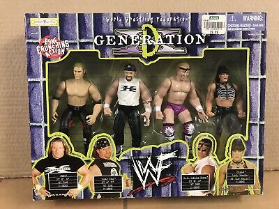 $ CDN236.68 • Buy Wwf Jakks Pacific D Generation X Collectors Set Wwe Retro Wcw Hbk Hhh Chyna Nao
