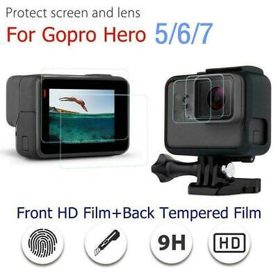 $ CDN3.01 • Buy For Gopro Hero 7 6 5 Camera Accessories Lens & Screen Protector Protector  2019