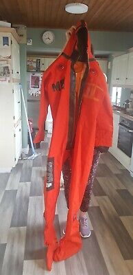 Multifabs Survival Immersion Suit For Aviation Or Sailing (size: Medium) • 49.99£