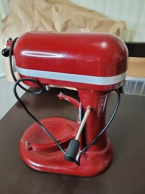 $ CDN317.16 • Buy KitchenAid Professional 600 6-Qt. Bowl-Lift Stand Mixer Red No Accessories Works