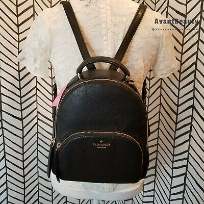 $ CDN238.11 • Buy Kate Spade Jackson Leather Backpack Authentic New York Medium Size Bag New Tag