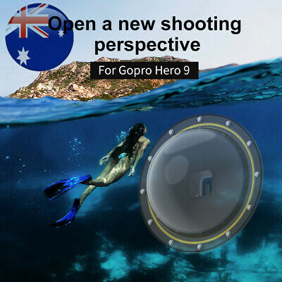 AU80.90 • Buy Pro 30M Dome Port Diving Camera Cover Underwater Housing Parts For Hero 9 Gopro
