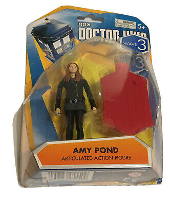 £9.21 • Buy BBC Doctor Who Wave 3 Action Amy Pond Figure In Brown Jacket 3.75 Inch