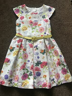 Debenhams John Rocha Lined Party Floral Dress 4-5 Years Used A Few Times • 8£