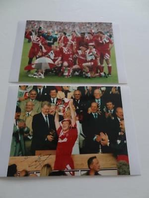 £3.99 • Buy Liverpool Fc 1992 Fa Cup Final Mark Wright Signed Reprint Ian Rush Jan Molby
