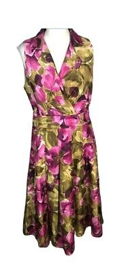 £22.50 • Buy Jessica Howard Floral Dress Size 14 Occasion Party Wedding Holiday