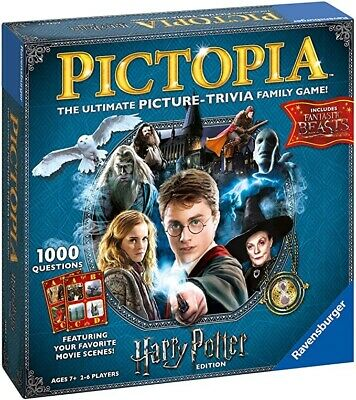£17.95 • Buy NEW & SEALED Harry Potter Pictopia Family Picture Trivia Game