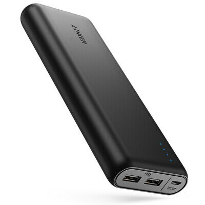 AU60.28 • Buy Anker PowerCore 20100 Power Bank With Ultra High Capacity , 4.8A Output, PowerIQ