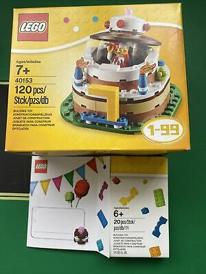 40153 Lego Birthday Cake Topper Set And Other New Sealed In Original Boxes • 10£