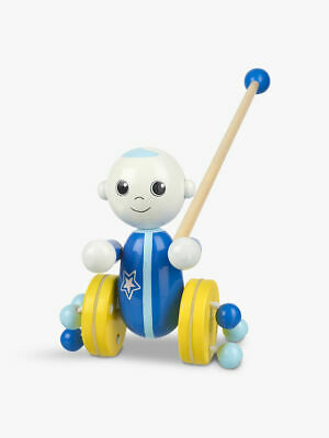 Moon And Me Moon Baby Push Along Wooden Toy Wood Ages 12mths Up Hand Crafted NEW • 10£