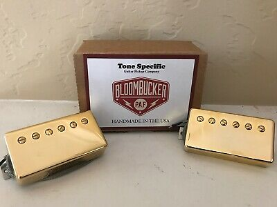 $ CDN292.44 • Buy Bloombucker P.A.F. Humbucker By Tone Specific Guitar Pickups. Gold Covers.