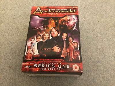 Used Gene Roddenberry's Andromeda Complete Series 1 10-disc DVD Boxset • 6£