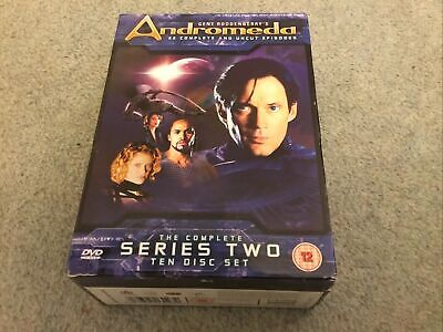Used Gene Roddenberry's Andromeda Complete Series 2 10-disc DVD Boxset • 6£