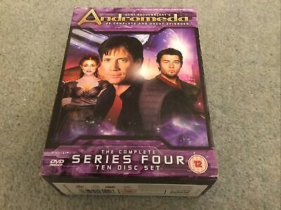 Used Gene Roddenberry's Andromeda Complete Series 4 10-disc DVD Boxset • 6£