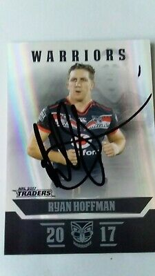 AU3.99 • Buy Signed Ryan Hoffman New Zealand Warriors Card