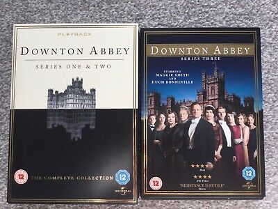 Downton Abbey Series 1 2 And 3 Box Sets Dvds • 0.99£