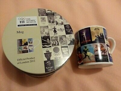 Olympic Museum Mug In Gift Tin Official London 2012 Royal Doulton EC 1 UK • 9.99£