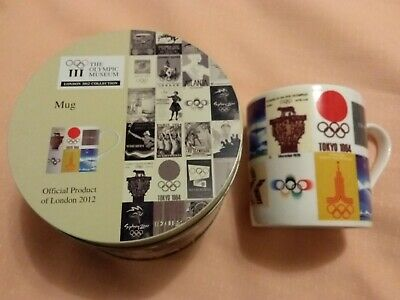 Olympic Museum Mug In Gift Tin Official London 2012 Royal Doulton China EC 2 UK • 9.99£
