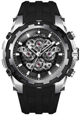 £92.33 • Buy Invicta Men's Specialty Quartz Silver Dial Stainless Steel/Silicone Watch 34214