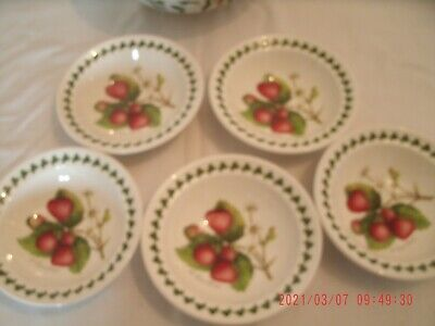 £13.20 • Buy Portmeirion Strawberry Fair Dessert Bowl In Very Good Condition 7inch