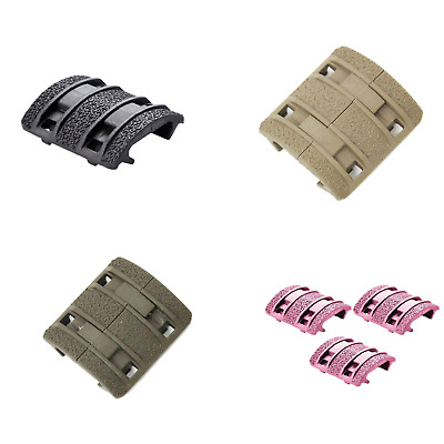 $9.99 • Buy MAGPUL MAG510 Enhanced XTM Textured Rail Cover Kit 4 Pieces BLK GRY PNK FDE ODG