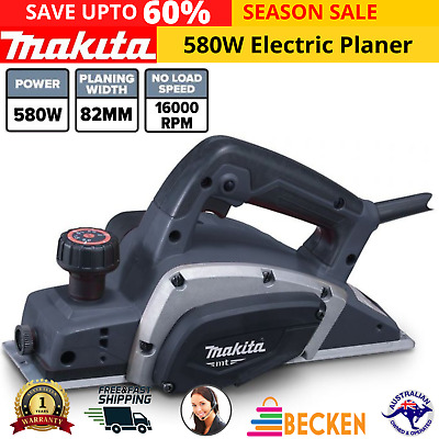 AU125.79 • Buy Makita M1901G 580W Electric Planer 82mm 3  MT Series Corded Planers Power Tool