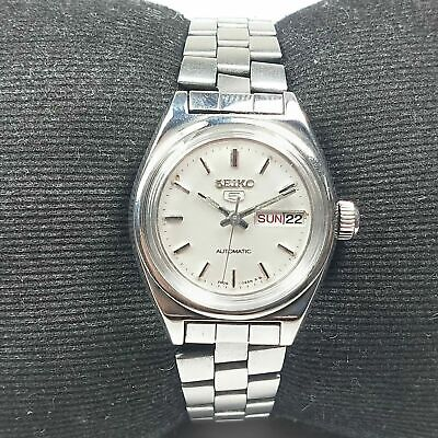 $ CDN11.51 • Buy Vintage Seiko Automatic Movement Day Date Dial Wrist Watch For Womens RV34