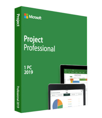 $ CDN142.67 • Buy Project Professional 2019 Full Version Genuine License AU KEY For 1PC