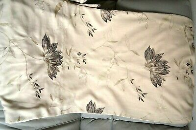 £25 • Buy Dunelm Mill Lined Curtains With Deep Pleat Heading