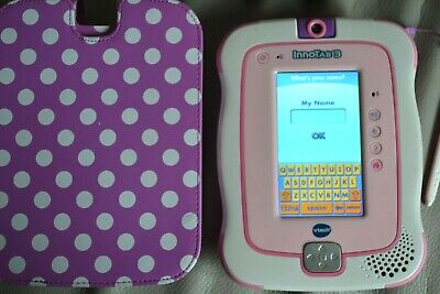 £30 • Buy VTech InnoTab 3 Pink Complete With Case, Charger & USB Cable Etc.