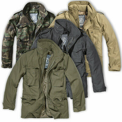 $74.41 • Buy BRANDIT CLASSIC M65 FIELD JACKET Mens Vintage Military Removable Quilted Liner