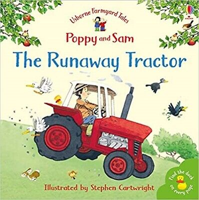 £3.89 • Buy The Runaway Tractor Usborne Farmyard Tales NEW Paperback Childrens Book