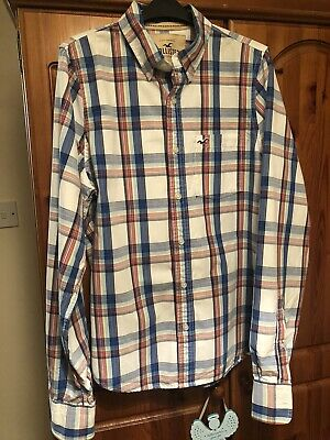 £6.50 • Buy Hollister Mens ( L ) Long  Sleeved,checked Shirt