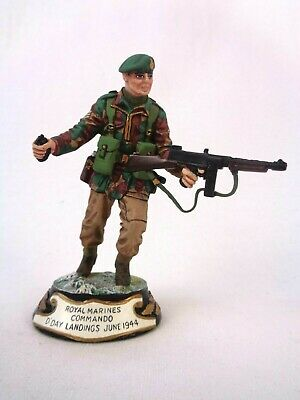 £139.99 • Buy Charles Stadden Pewter Figure Studio Painted Royal Marines Commando D'Day 1944