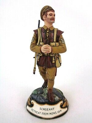 £94.99 • Buy Charles Stadden Pewter Figure Studio Painted Sergeant Retreat From Mons. 1914