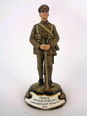 £94.99 • Buy Charles Stadden Pewter Figure Studio Painted Private Canadian Infantry 1914 Rare