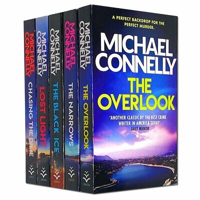 £13.99 • Buy Michael Connelly 5 Books Collection Set, The Black Ice,The Narrows, The Overlook
