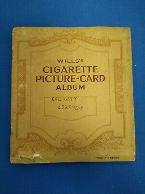£7.30 • Buy Wills's Picture Card Album With Complete Set Of 50 Railway Equipment Cards